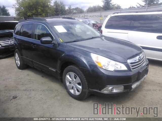 Photo 4S4BRCKC0B3321878 - Subaru Outback 2011
