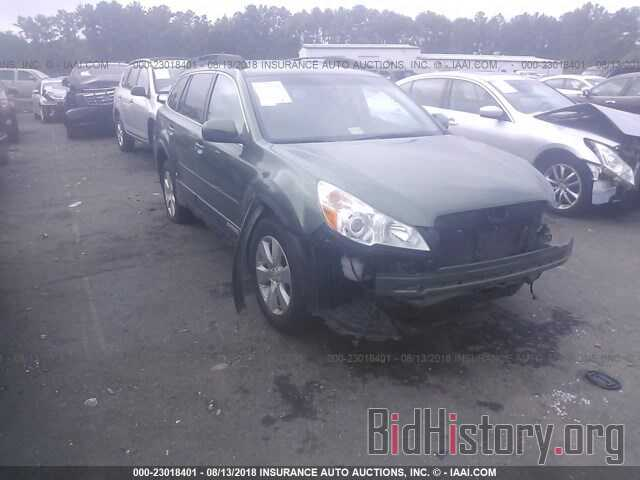 Photo 4S4BRDLC4B2401839 - Subaru Outback 2011