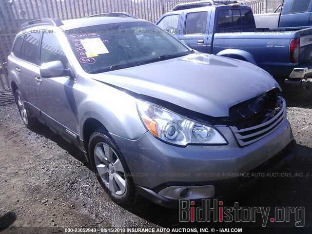 Photo 4S4BRBFC9B3401748 - Subaru Outback 2011