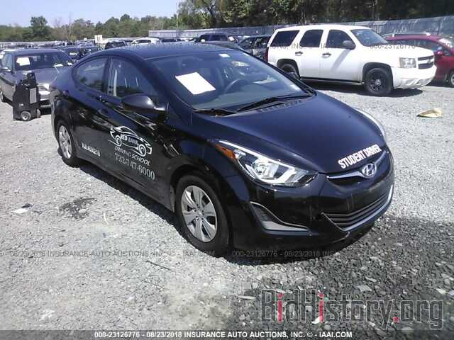 Photo KMHDH4AE9GU575885 - HYUNDAI ELANTRA 2016