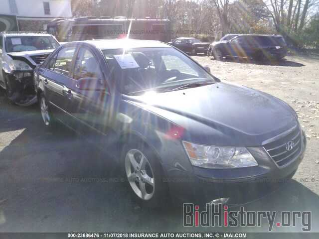 Photo 5NPEU46C99H496533 - HYUNDAI SONATA 2009