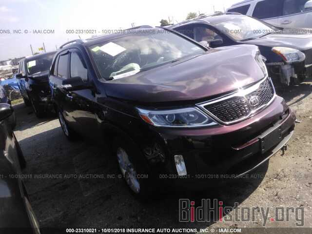Photo 5XYKT3A68EG507959 - KIA SORENTO 2014