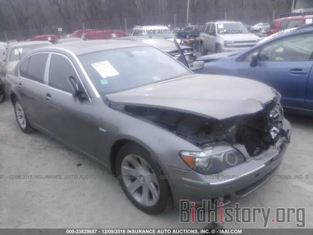 Photo WBAHN83547DT71415 - BMW 750 2007