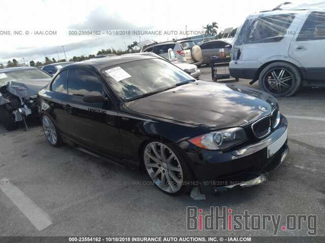 Photo WBAUC73568VF23773 - BMW 135 2008