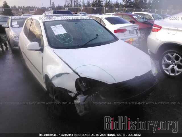 Photo WVWBB71K19W038813 - VOLKSWAGEN RABBIT 2009