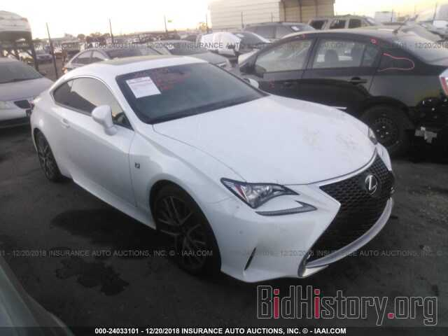 Photo JTHHE5BC3G5013233 - LEXUS RC 2016