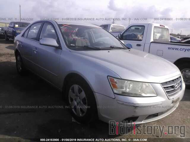 Photo 5NPET46C99H503032 - HYUNDAI SONATA 2009