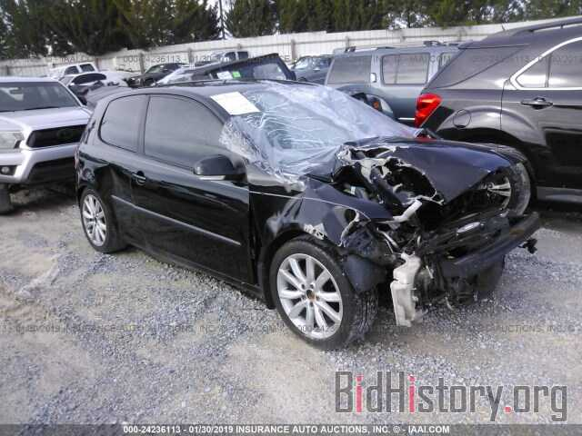 Photo WVWAA71K59W080318 - VOLKSWAGEN RABBIT 2009