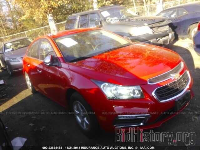 Photo 1G1PE5SB8G7104757 - CHEVROLET CRUZE LIMITED 2016