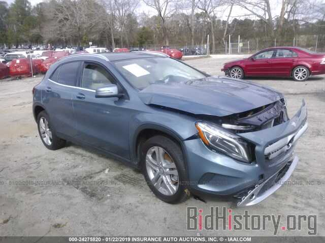 Photo WDCTG4GB2FJ071057 - MERCEDES-BENZ GLA 2015