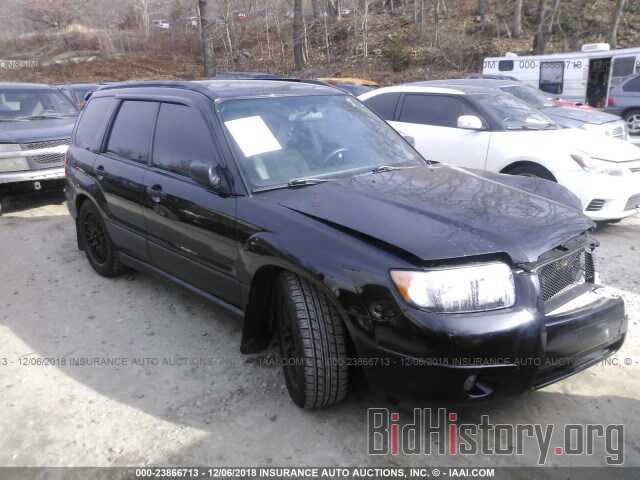 Photo JF1SG63677H719156 - SUBARU FORESTER 2007