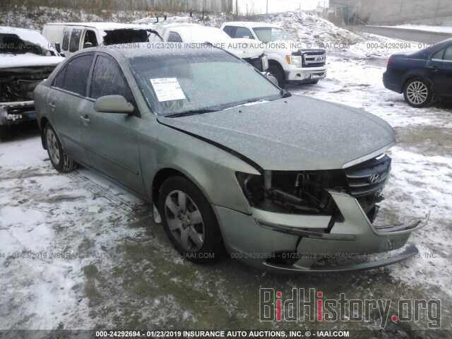 Photo 5NPET46C29H413141 - HYUNDAI SONATA 2009