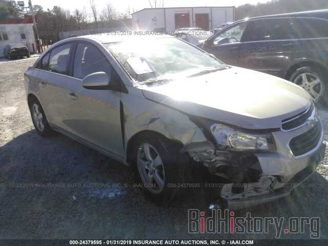 Photo 1G1PE5SB2G7189904 - CHEVROLET CRUZE LIMITED 2016
