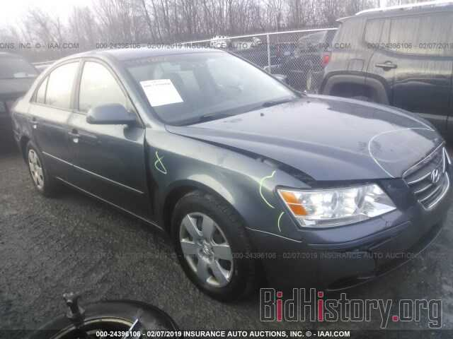 Photo 5NPET46C79H484738 - HYUNDAI SONATA 2009
