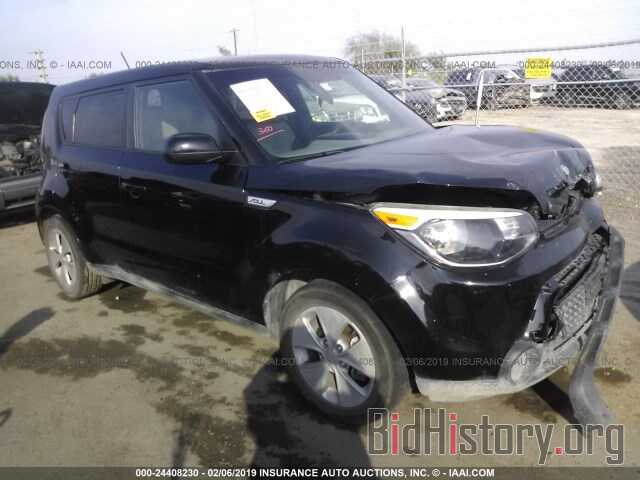 Photo KNDJN2A2XF7125279 - KIA SOUL 2015