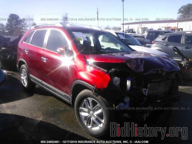 Photo 5XYKT4A6XEG436768 - KIA SORENTO 2014