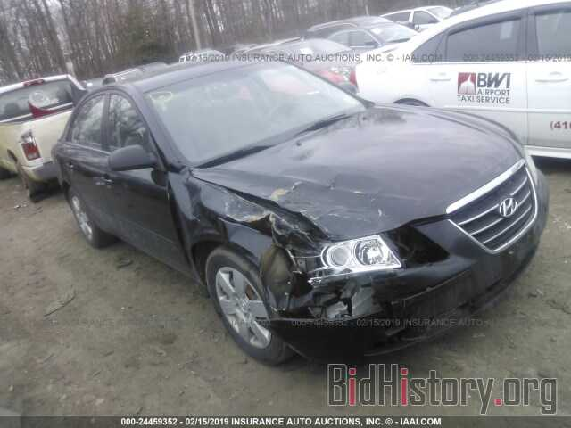 Photo 5NPET46C49H462759 - HYUNDAI SONATA 2009