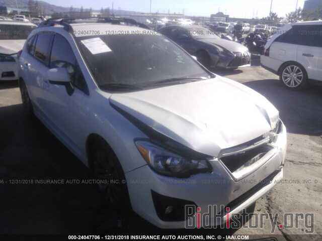 Photo JF1GPAL66EH324228 - SUBARU IMPREZA 2014