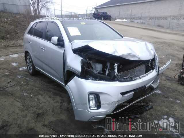Photo 5XYKWDA78EG548436 - KIA SORENTO 2014