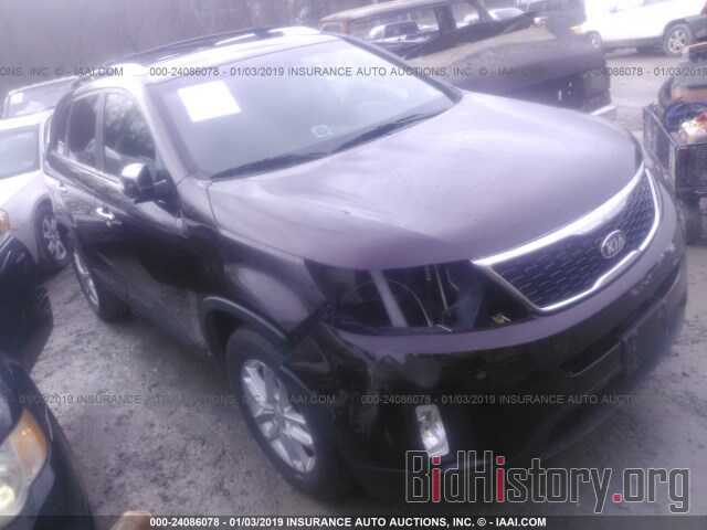 Photo 5XYKT3A66EG528079 - KIA SORENTO 2014