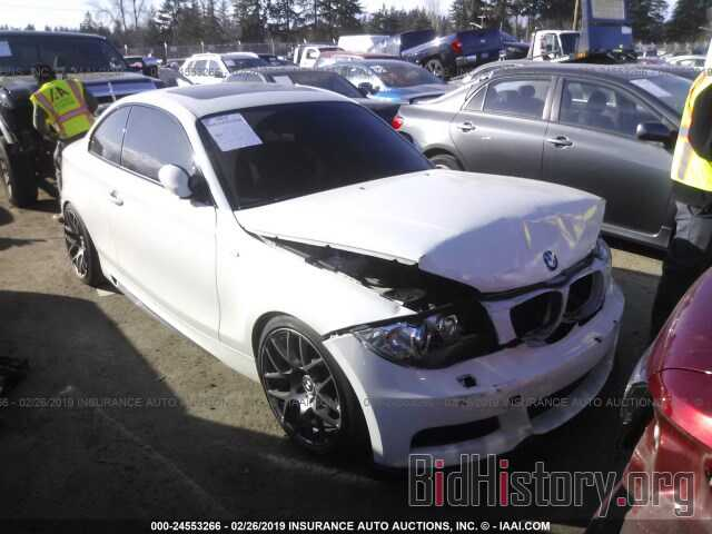 Photo WBAUC73508VF23784 - BMW 135 2008