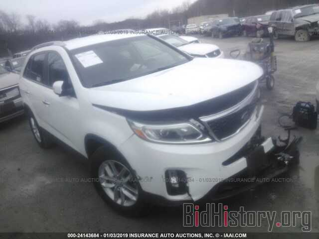 Photo 5XYKT3A66EG440133 - KIA SORENTO 2014