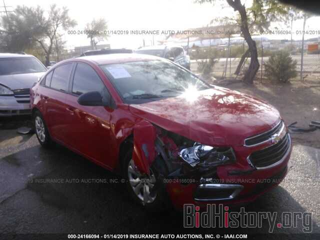 Photo 1G1PC5SH6G7212613 - CHEVROLET CRUZE LIMITED 2016