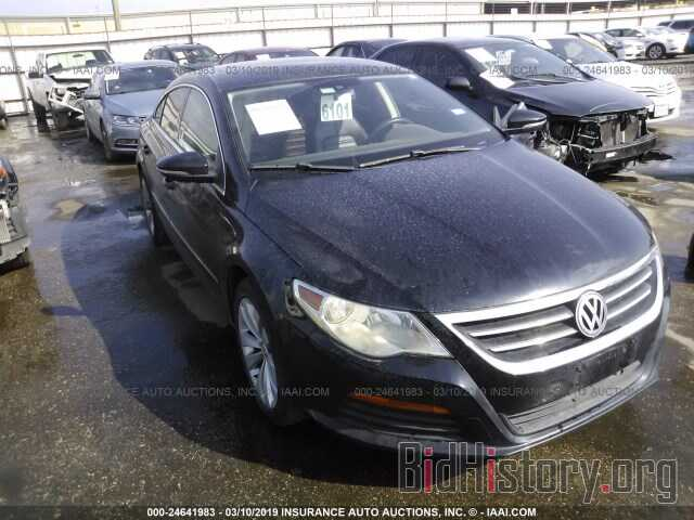 Photo WVWMN7AN2BE708066 - VOLKSWAGEN CC 2011