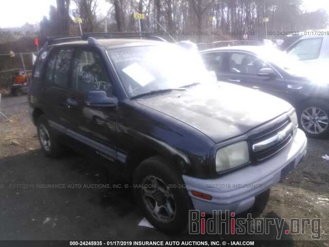 Photo 2CNBJ13C016900161 - CHEVROLET TRACKER 2001