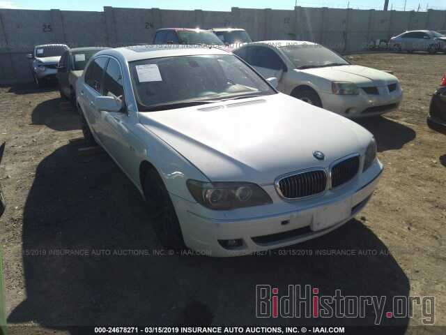 Photo WBAHN83507DT68169 - BMW 750 2007