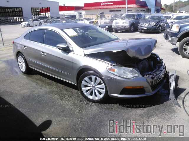 Photo WVWMN7ANXBE707103 - VOLKSWAGEN CC 2011