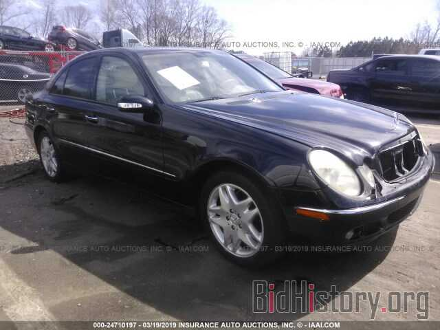 Photo WDBUF56J56A860099 - MERCEDES-BENZ E 2006