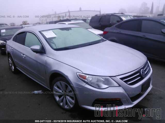 Photo WVWMP7AN9BE728616 - VOLKSWAGEN CC 2011