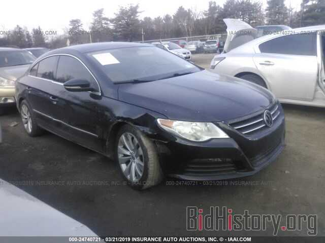 Photo WVWNP7AN8BE701427 - VOLKSWAGEN CC 2011