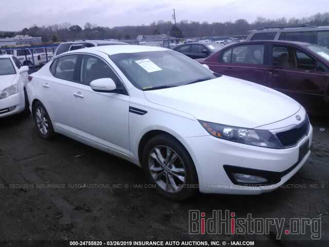 Фотография 5XXGN4A73CG008437 - KIA OPTIMA 2012