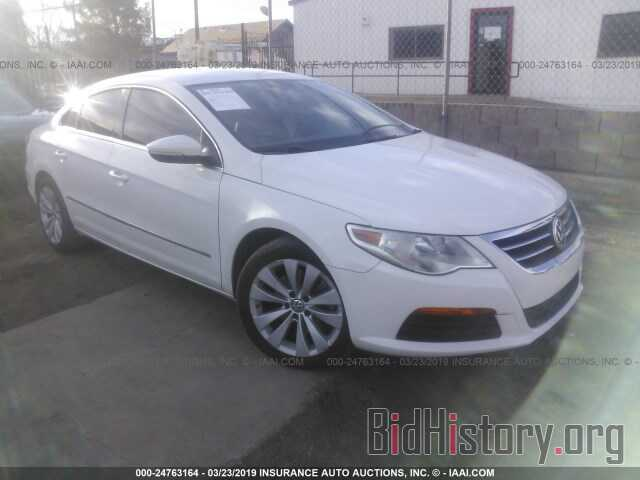 Photo WVWMP7AN0BE728276 - VOLKSWAGEN CC 2011