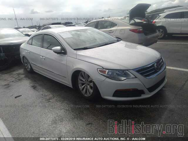 Photo WVWMN7AN0BE731409 - VOLKSWAGEN CC 2011