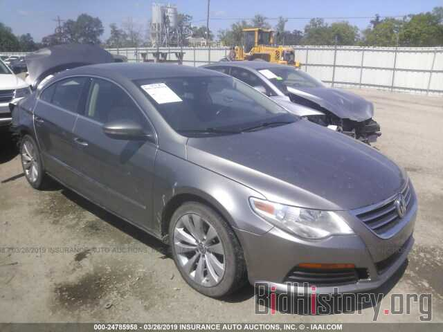 Photo WVWMN7AN9BE707156 - VOLKSWAGEN CC 2011