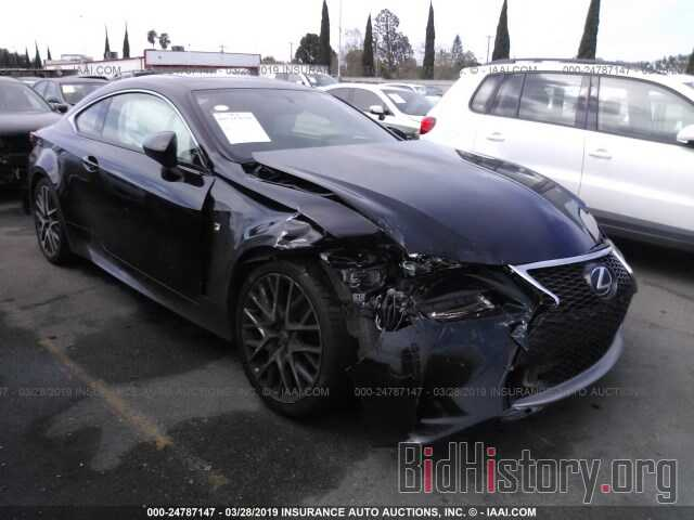 Photo JTHHA5BC3G5003796 - LEXUS RC 2016