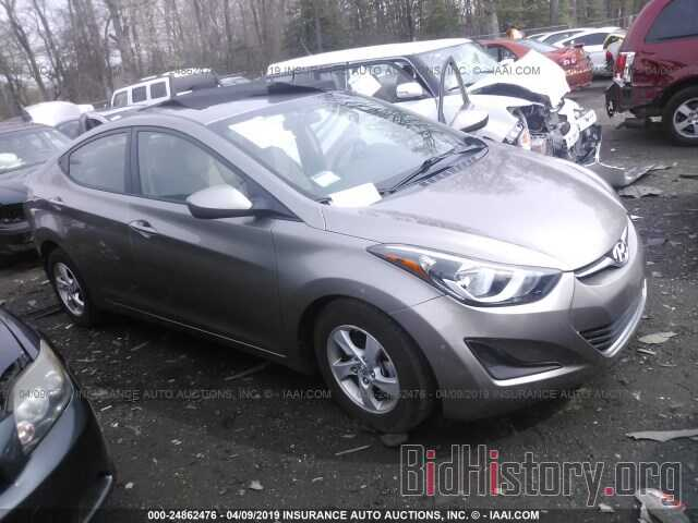 Photo 5NPDH4AE4EH465712 - HYUNDAI ELANTRA 2014