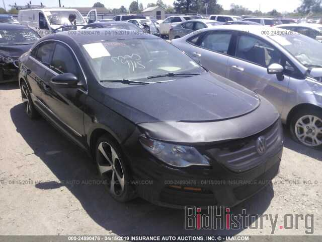 Photo WVWMN7AN2BE706835 - VOLKSWAGEN CC 2011