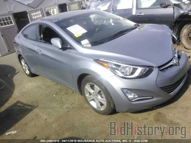 Photo 5NPDH4AE8GH773730 - HYUNDAI ELANTRA 2016