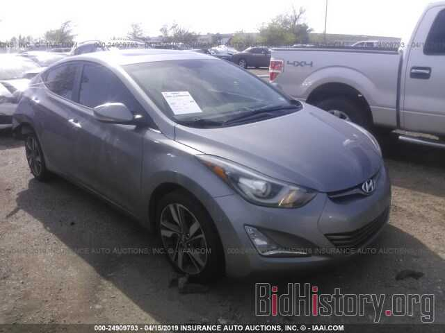 Photo KMHDH4AE2EU103461 - HYUNDAI ELANTRA 2014
