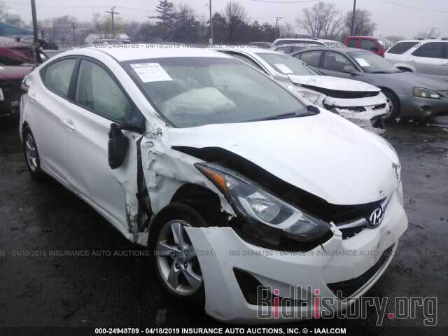 Photo 5NPDH4AE9EH476575 - HYUNDAI ELANTRA 2014