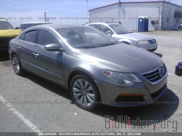 Photo WVWMN7AN9BE702376 - VOLKSWAGEN CC 2011