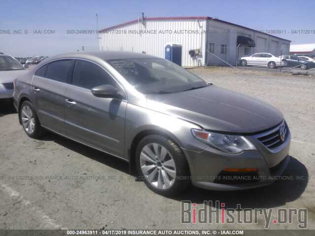 Photo WVWMN7AN2BE717687 - VOLKSWAGEN CC 2011