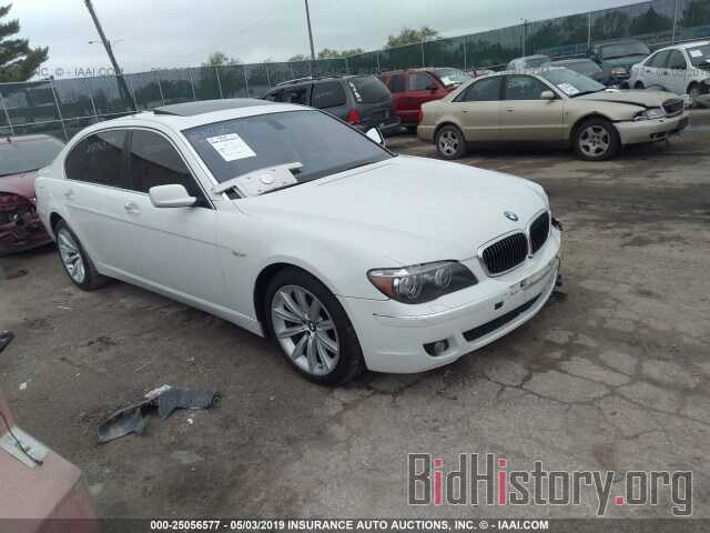 Photo WBAHN835X7DT72990 - BMW 750 2007
