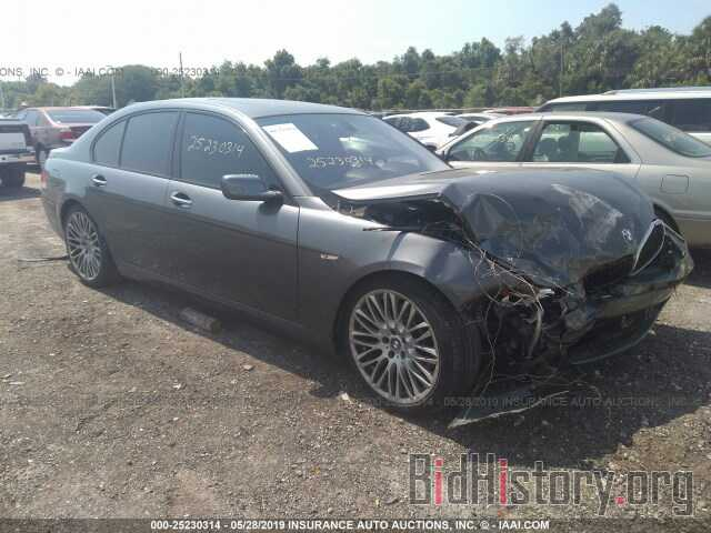 Photo WBAHL83597DT09174 - BMW 750 2007