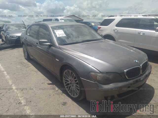 Photo WBAHN83567DT74302 - BMW 750 2007