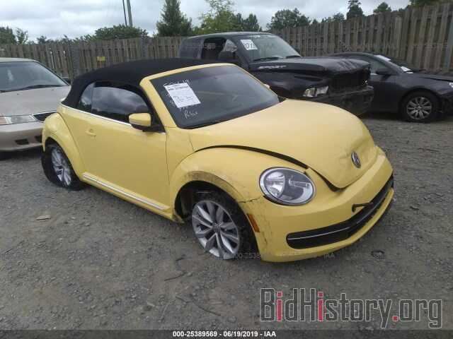 Фотография 3VW5L7AT6DM801949 - VOLKSWAGEN BEETLE 2013